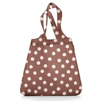 Сумка складная Mini maxi shopper brown dots, Reisenthel