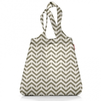 Сумка складная Mini maxi shopper grey hatch, Reisenthel