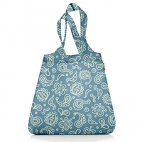 Сумка складная Mini maxi shopper paisley blue, Reisenthel