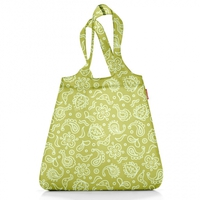 Сумка складная Mini maxi shopper paisley green, Reisenthel
